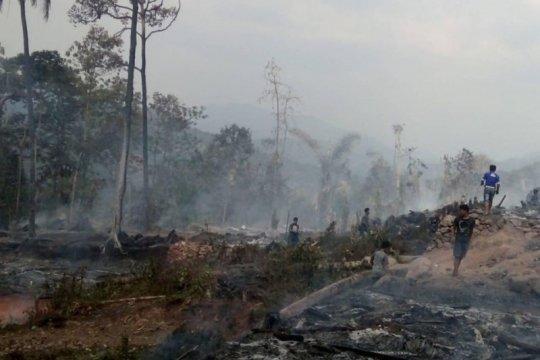 BPBD Lebak jamin logistik penanganan kebakaran pemukiman Badui cukup
