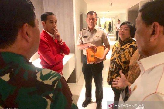 Usai Shalat Istisqa, Jokowi ke lokasi karhutla