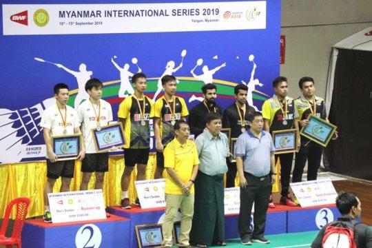Indonesia raih dua gelar juara Myanmar International Series 2019