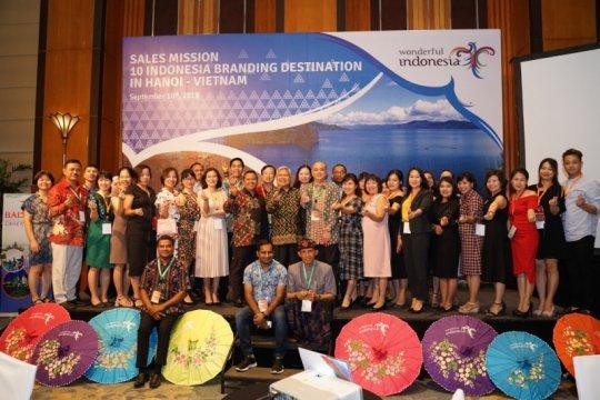 Potensi penjualan paket wisata Indonesia di Vietnam capai Rp204 miliar