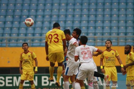 Sriwijaya FC kokoh di puncak klasemen setelah taklukan PSPS Riau 1-0