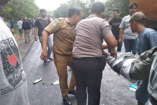 Polisi tegaskan korban tewas delapan orang kecelakaan di Way Kanan