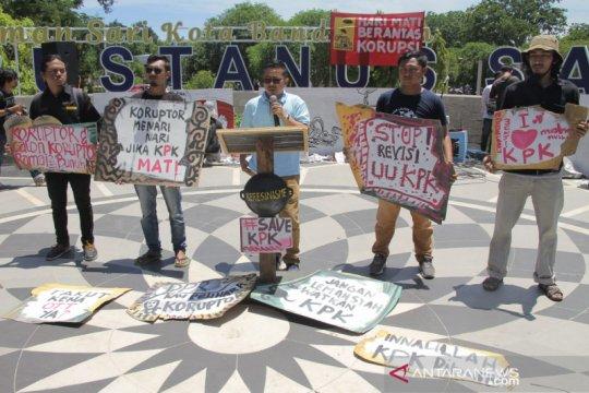 Aktivis: Revisi undang-undang KPK bukan kebutuhan publik