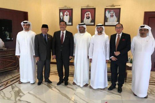 Ke Uni Emirat Arab, Luhut fokus dorong kerja sama ekonomi