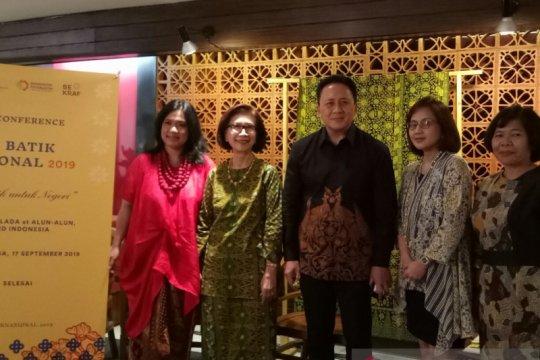 Hari Batik Nasional 2019 akan dirayakan di dua kota