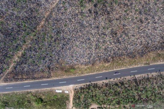 Kebakaran hutan di Jabar