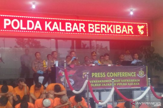 Polda Kalbar proses 66 kasus Karhutla