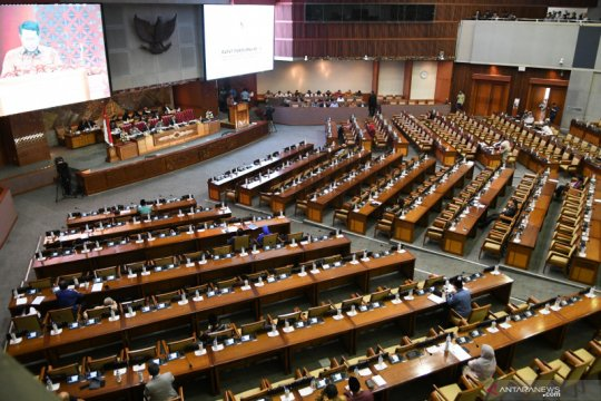 Round Up - Pengesahan UU KPK di DPR