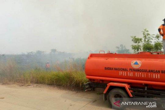 Menteri LHK minta pemda tetap waspada fluktuasi titik api karhutla