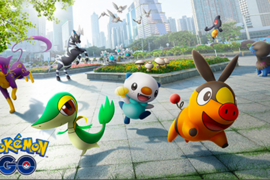 Pokemon Go luncurkan monster generasi 5