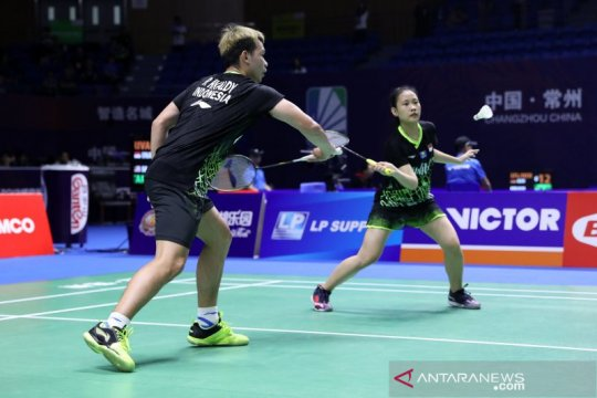 Ringkasan pertandingan, lima wakil Indonesia ke babak dua China Open