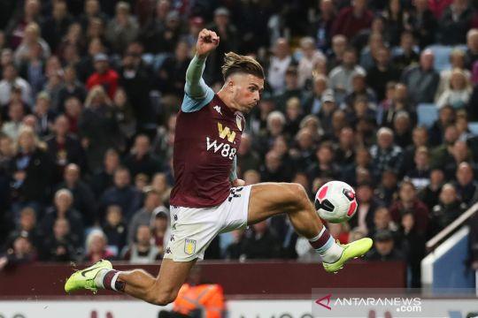 Aston Vila bermain imbang lawan West Ham United