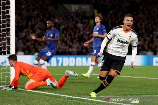 Chelsea dipermalukan Valencia di Stamford Bridge