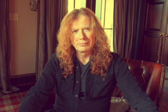 Kabar terbaru gitaris Megadeth Dave Mustaine setelah divonis kanker