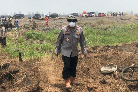 Polda Kalsel tingkatkan koordinasi tangani kebakaran hutan-lahan