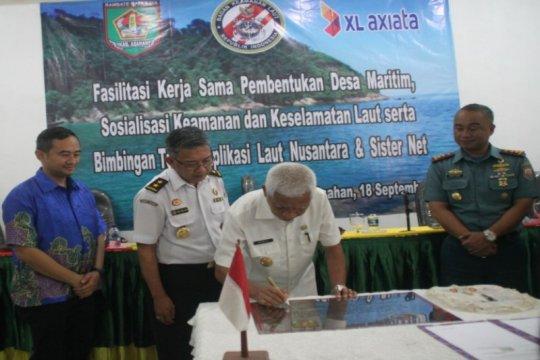 XL Axiata-Bakamla bangun Desa Maritim di Asahan Sumut