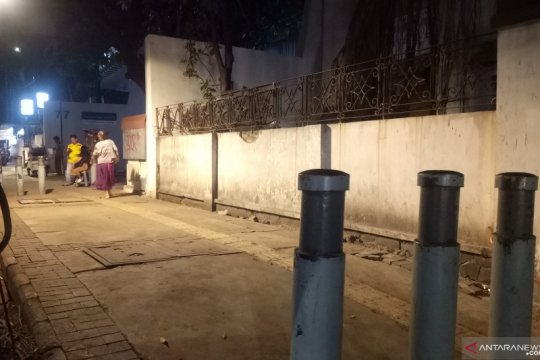 Trotoar Kebon Sirih kosong dari pencari suaka