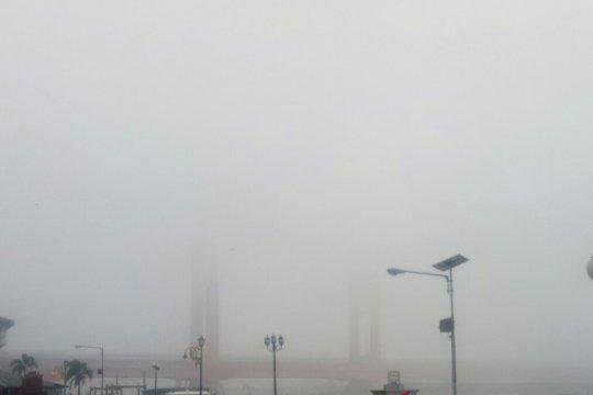 Sejumlah penerbangan Bandara SSK II Pekanbaru tertunda akibat asap