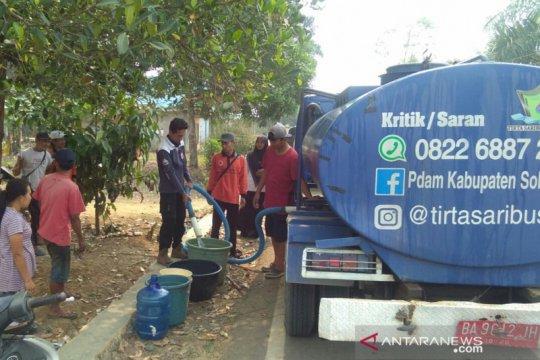 Solok Selatan distribusikan air bersih ke daerah kekeringan