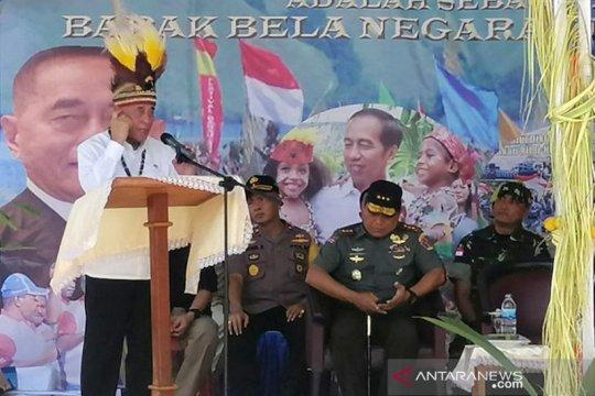 Menhan tegaskan Papua bagian tak terpisahkan dari NKRI