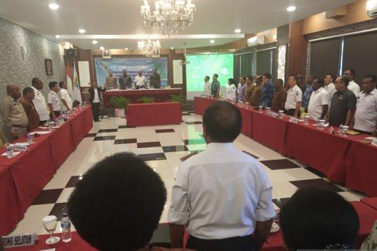 Kepala daerah se-Papua Barat berkumpul bahas isu kepulangan mahasiswa