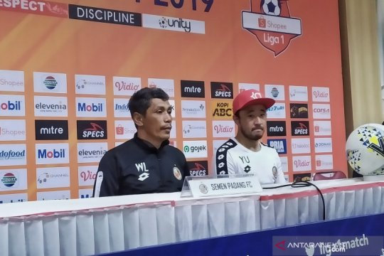 Pelatih Semen Padang senang anak asuhnya curi poin di kandang Persib
