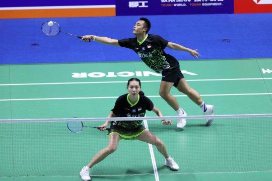 Ringkasan pertandingan, 10 wakil Indonesia ke babak dua China Open