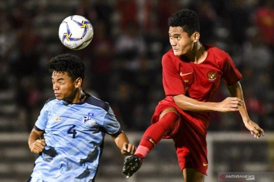 Indonesia puncaki Grup G usai lumat Kepulauan Mariana Utara 15-1