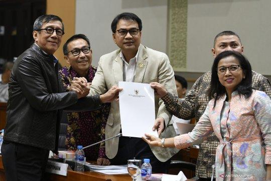 Pemerintah dan DPR sepakati RKUHP