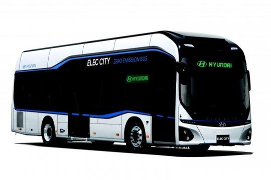 """Bus listrik Hyundai sediakan info \""""real time\"""""""