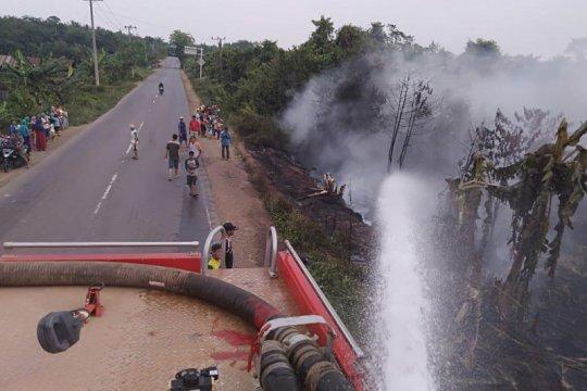 Pertamina EP bantu tanggap darurat kebakaran hutan dan lahan