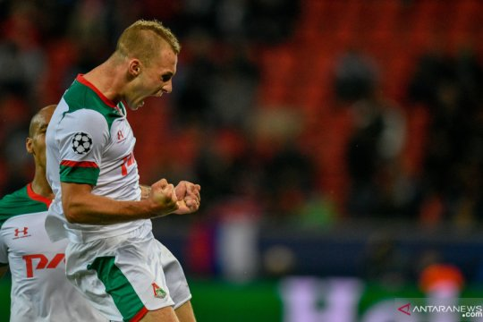 Lokomotiv Moscow curi tiga poin dari markas Bayer