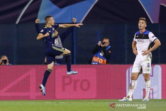 Dinamo Zagreb rusak debut Champions Atalanta