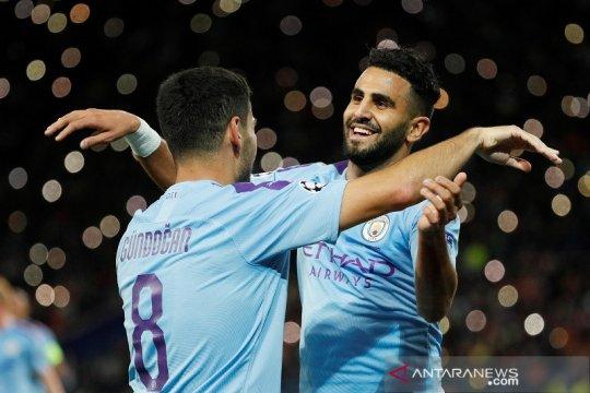 Man City menang mudah di kandang Shakhtar