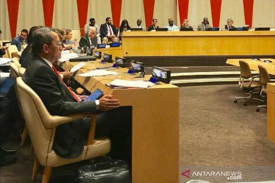 Indonesia mulai bertugas sebagai wakil presiden Majelis Umum PBB ke-74