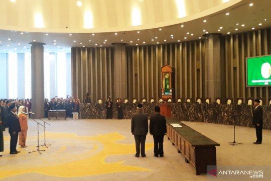 Dirjen Peradilan Umum serta Militer dan TUN baru dilantik