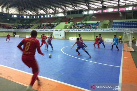 Tim Futsal Indonesia kalah dari Thailand 0-2 pada APA Sports Meet