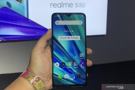 Realme luncurkan ponsel empat kamera Realme 5 dan Realme 5 Pro