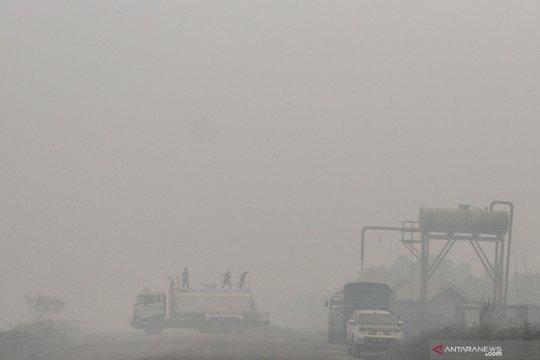 Gubernur Riau tetapkan darurat pencemaran udara akibat karhutla