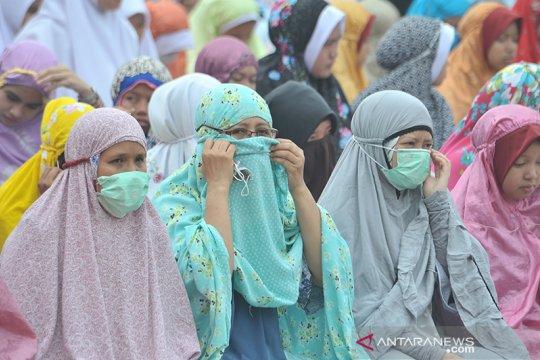 Kualitas udara Kota Palembang memburuk