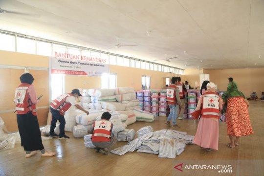 PMI Palu distribusikan ratusan paket bantuan untuk korban likuifaksi