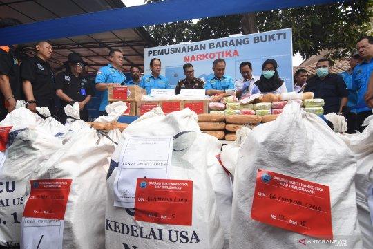 BNN musnahkan 77 kilogram sabu-sabu