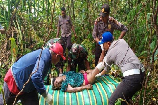 Laka lantas di perbatasan, WN PNG meninggal
