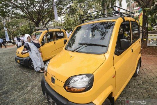 Mobil Kancil untuk angkutan umum di Bekasi