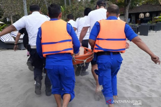Jenazah WNA Finlandia dievakuasi ke RS Bhayangkara Mataram