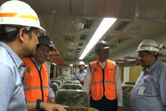 Lihat langsung pembuatan kereta, Delegasi Kamboja kunjungi PT INKA
