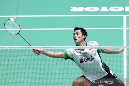 Shesar kalah, tunggal putra Indonesia sisakan Ginting di China Open