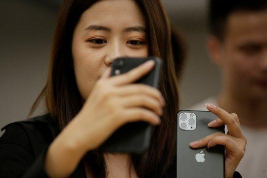"""iPhone 11 meluncur """"offline"""", tak ada keramaian di Apple Store China"""