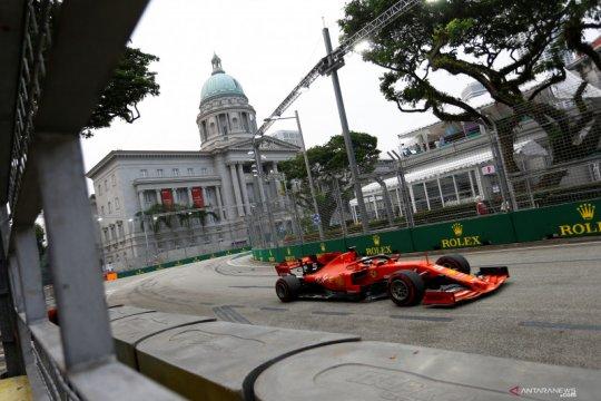 Persiapan balap F1 Singapura
