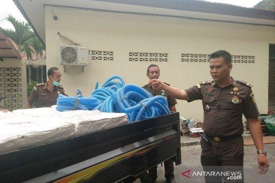 Jaksa geledah DLH Kalteng terkait dugaan korupsi